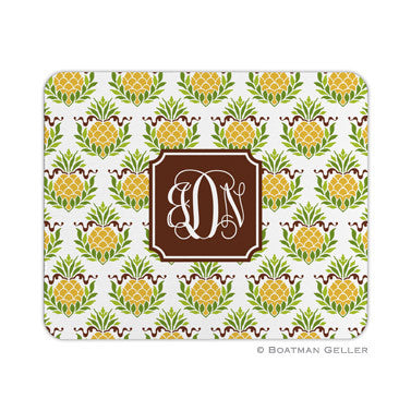 Pineapple Repeat Mouse Pad