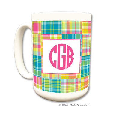 Madras Patch Bright Mug