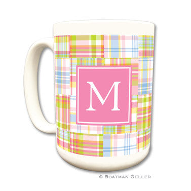 Madras Patch Pink Mug