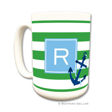 Stripe Anchor Mug