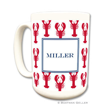 Lobsters Red Mug
