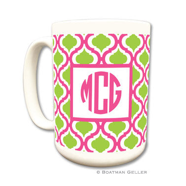 Kate Raspberry & Lime Mug