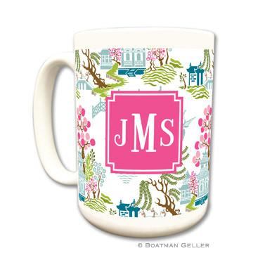 Chinoiserie Full Color Mug
