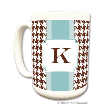 Alex Houndstooth Chocolate Mug