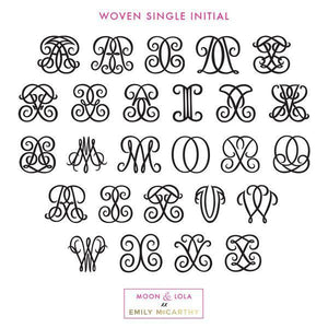 ML XX EM Earrings - Woven