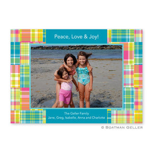 Madras Patch Bright Photocard