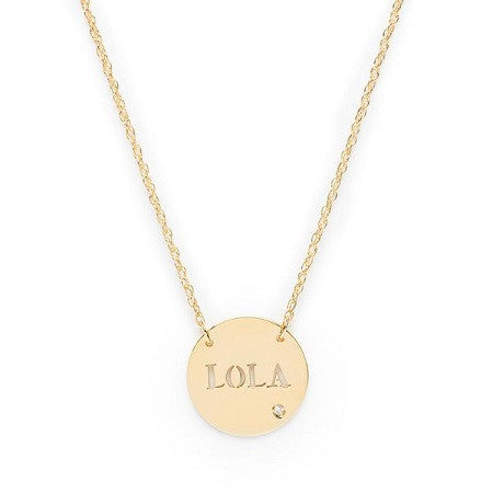 Marbella Necklace 14K Gold
