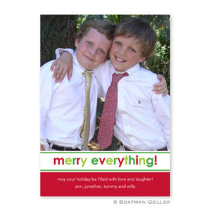 Merry Everything Photocard