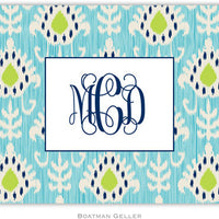 Mia Ikat Folded Notes (4 Colors)