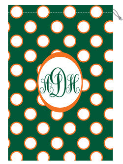 Monogrammed Miami Laundry Bag for Her