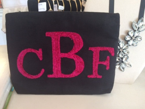 Personalized Ultra Suede Clutch