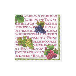 Caspari Vintages Beverage Napkins
