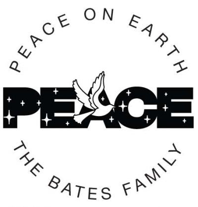 Peace Address Stamp