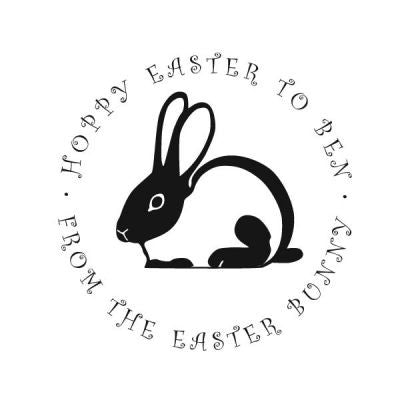 Bunny Address Stamp