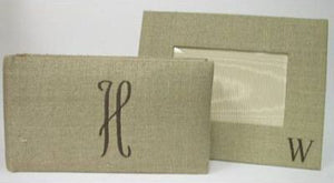 Natural Linen with Chocolate Album