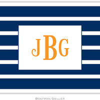 Nautical Stripe Folded Notes (4 Colors)