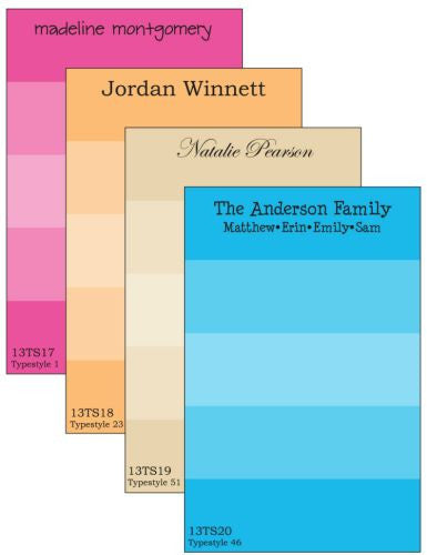Personalized Ombre Notepad Collection