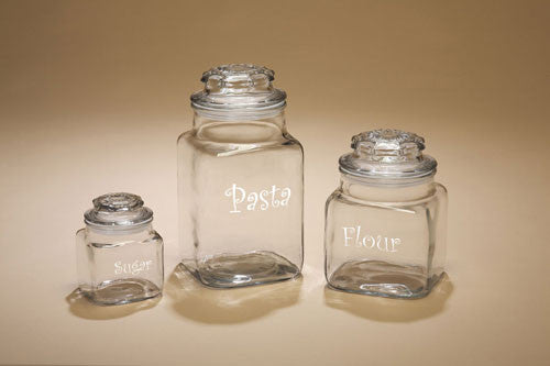 Personalized Canister Jars