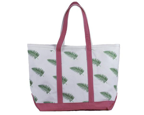 Monogrammed Palm Frond Classic Tote
