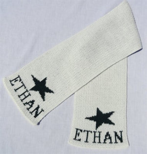 Personalized Scarf with Name & Star