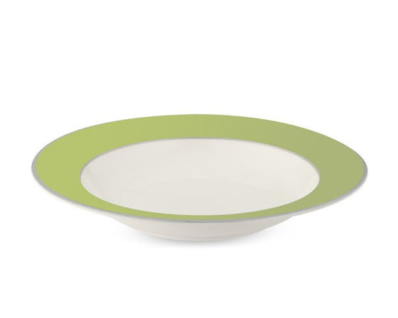 Pickard Soup Plate- Set of 4  sc 1 st  The Monogram Merchant : dining plate set - pezcame.com