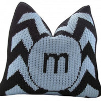 Pillow with Chevron