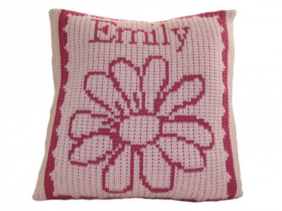Pillow with Flower