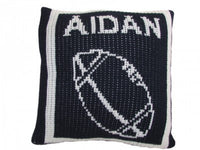 Pillow with Football