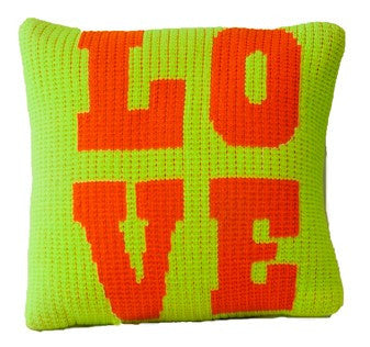 Pillow with Love Design