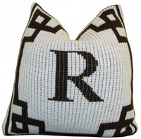 Pillow with Modern Stripe