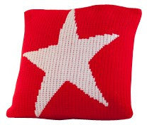 Pillow with Star Design