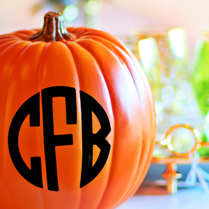 Personalize your Pumpkin!