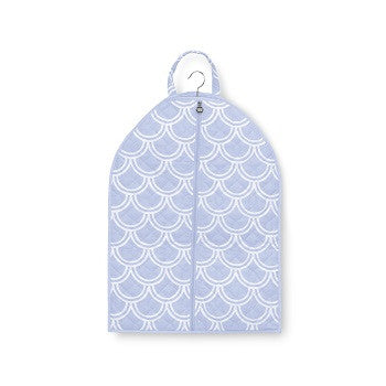 Personalized Quilted Harbor Bae Baby Blue Garment Bag