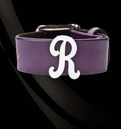 Leather and Lace Initial Bracelet