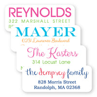 Family Address Labels