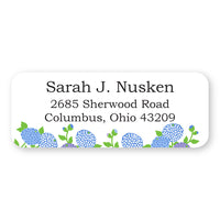 Periwinkle Address Label