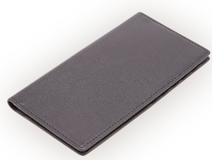 RFID Blocking Checkbook Wallet