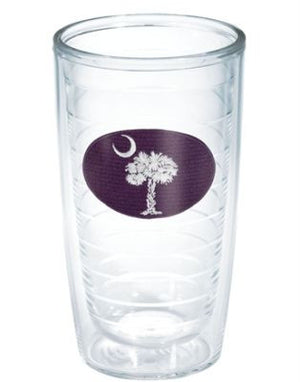Monogrammed Blue and White SC Flag Tervis Tumbler