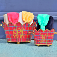 we're Mad for Plaid & these Fab Bow Bags!