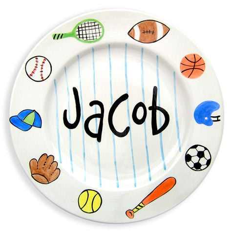 Personalized Sports Plate