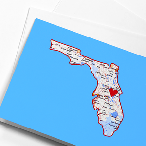 Florida Foldover Notecard Set of 10