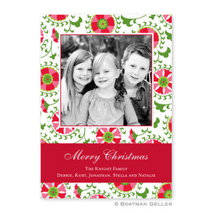 Suzani Holiday Photocard