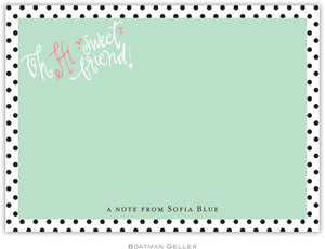 Sweet Friend Flat Notecard