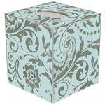 Damask (Antique) Tissue Box Covers (Multiple Colors)