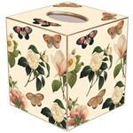Floral 1 Tissue Box Cover (Multiple Colors)
