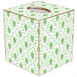 Provencial Print Tissue Box Covers (Multiple Colors)