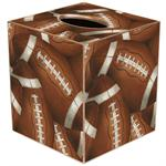 Antique Football Tissue Box Cover