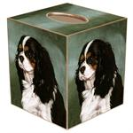 King Charles Spaniel Dog Tissue Box Cover