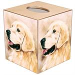 Golden Retriever Tissue Box Cover