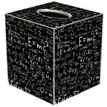 Einstein's E=mc2 Tissue Box Cover